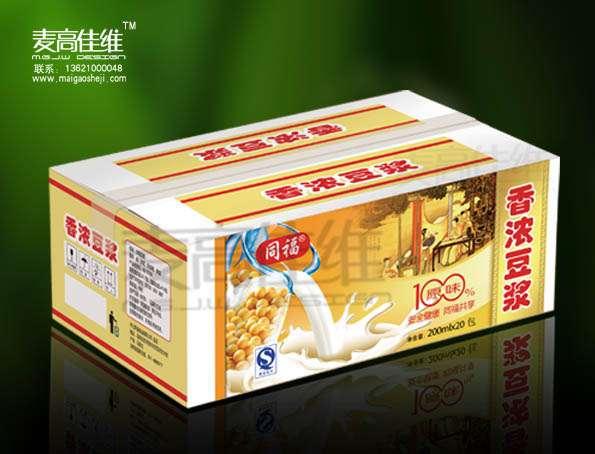 同福豆奶 包装设计